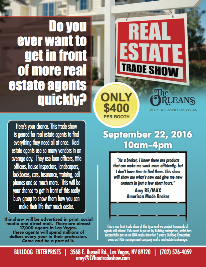 Nevadas Finest Properties | Real Estate Tradeshow Las Vegas